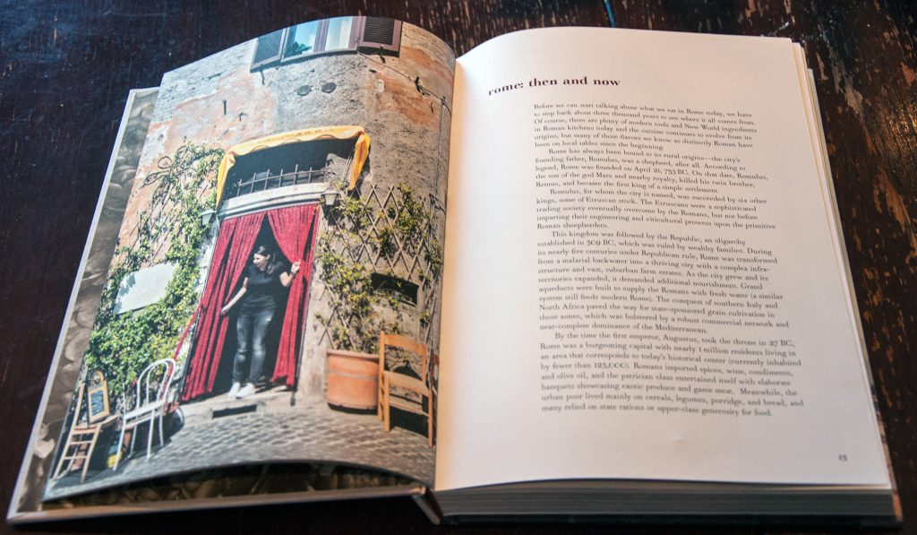 Tasting Rome, one of the best books about ITaly
